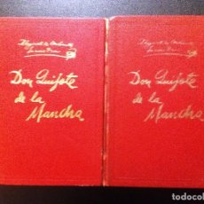 Livres d'occasion: DON QUIJOTE DE LA MANCHA. TOMOS I Y II. ED. GINER 1967 ILUSTRADO POR LORENZO GOÑI. Lote 98125799
