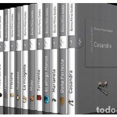 Libros de segunda mano: COLECCIÓN OBRAS ESCOGIDAS - BENITO PEREZ GALDOS - SIGNO EDITORES 2010 - 12 TOMOS - COMPLETA. Lote 98789159