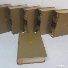 Libros de segunda mano: OBRAS COMPLETAS DE JUAN ANTONIO DE ZUNZUNEGUI. TOMOS DEL 1 AL 6. EDICION NOGUER 1969.. Lote 98871879