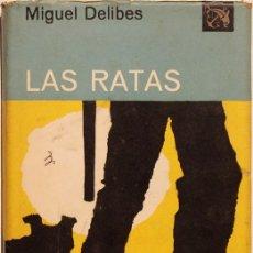Libros de segunda mano: LIBRO, LAS RATAS, MIGUEL DELIBES. Lote 99087291