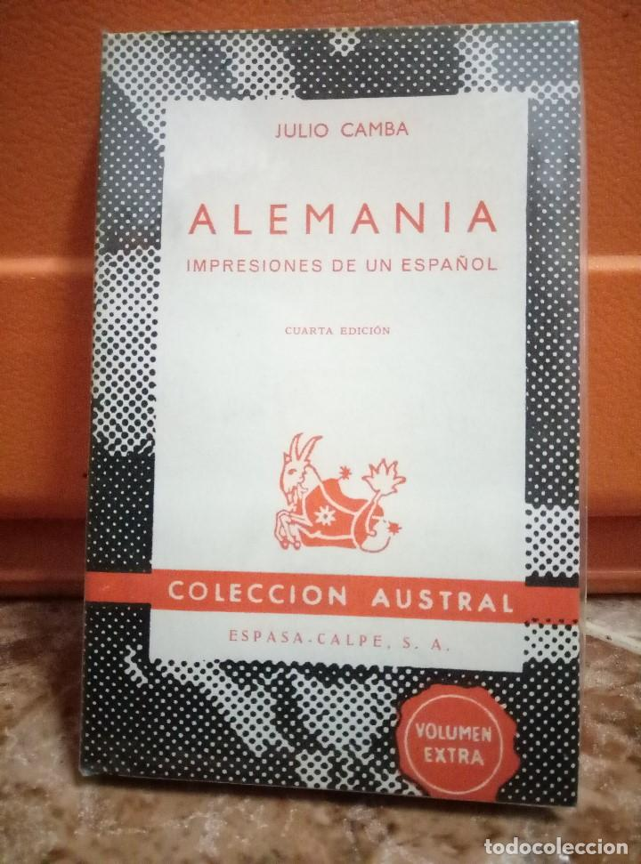julio camba - alemania impresiones de un españo - Comprar Libros ...