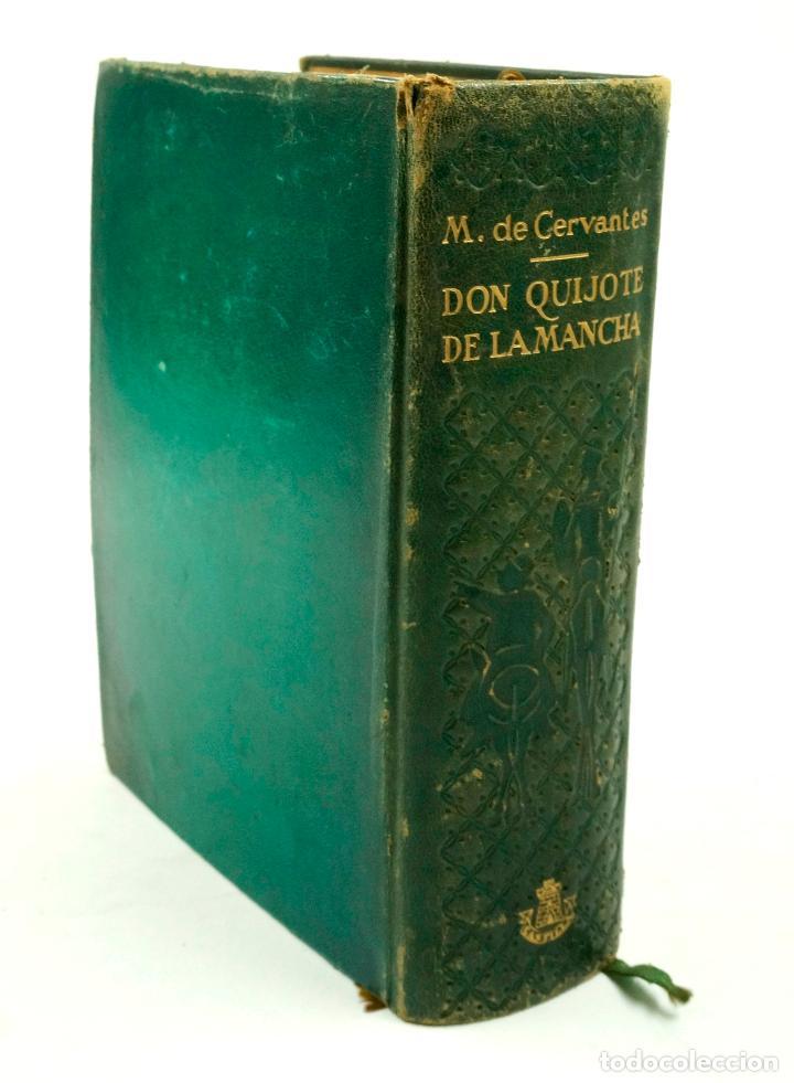 Libros de segunda mano: DON QUIJOTE DE LA MANCHA, CERVANTES, 1947, ED. CASTILLA. 14x18,8cm - Foto 2 - 99509551