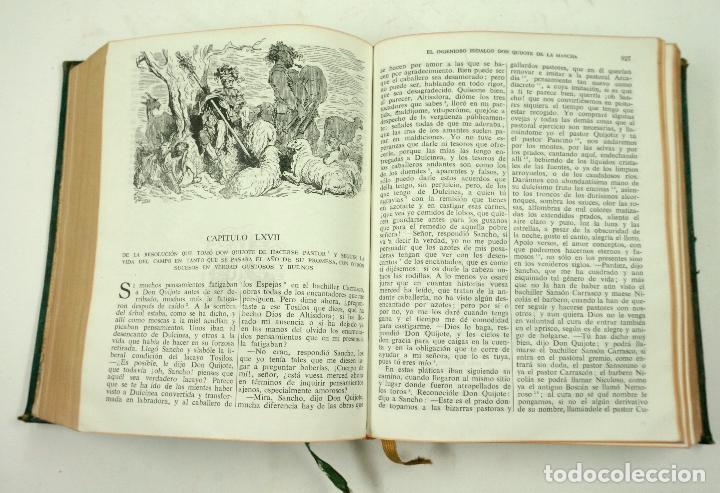 Libros de segunda mano: DON QUIJOTE DE LA MANCHA, CERVANTES, 1947, ED. CASTILLA. 14x18,8cm - Foto 4 - 99509551