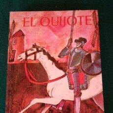 Libros de segunda mano: EL QUIJOTE. EVEREST. EDICIÓN JUVENIL CON ILUSTRACIONES. 1976. Lote 100003467