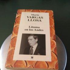 Libros de segunda mano: LITUMA EN LOS ANDES. MARIO VARGAS LLOSA. RBA.. Lote 100382348