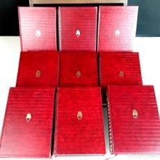 Libros de segunda mano: OBRAS SELECTAS. 9 VOLÚMENES. VARIOS AUTORES. EDICIONES CARROGGIO. 1973/1982.. Lote 100506831