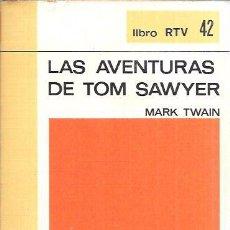 Libros de segunda mano: LAS AVENTURAS DE TOM SAWYER. MARK TWAIN. BIBLIOTECA BÁSICA SALVAT. SALVAT EDITORES, S.A. 1970.. Lote 100845007