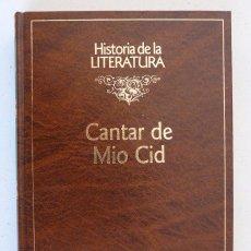 Libros de segunda mano: CANTAR DEL MÍO CID (EDICIÓN DE ENRIQUE RULL) - HISTORIA DE LA LITERATURA RBA 1992. Lote 100945063