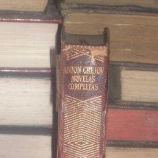Libros de segunda mano: ANTON CHEJOV NOVELAS COMPLETAS 1967 AGUILAR . Lote 101045767