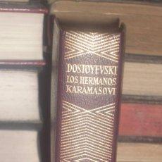 Libros de segunda mano: LOS HERMANOS KARAMAZOV, FIODOR DOSTOYEVSKI, AGUILAR 1968. Lote 101047003