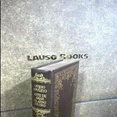 Libros de segunda mano: OVIDIO APULEYO. ARTE DE AMAR Y EL ASNO DE ORO. 2 OBRAS EN 1. GRANDES CLASICOS UNIVERSALES 1980.. Lote 205254388