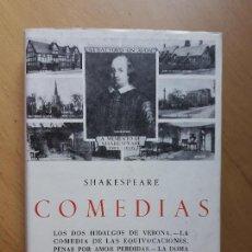 Libros de segunda mano: SHAKESPEARE, COMEDIAS · EDICIONES IBÉRICAS,. Lote 101394935
