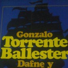 Libros de segunda mano: DAFNE Y ENSUEÑOS. GONZALO TORRENTE BALLESTER. EDICIONES DESTINO. AÑO 1983. COLECCIÓN ÁNCORA Y DELFÍN. Lote 101691900