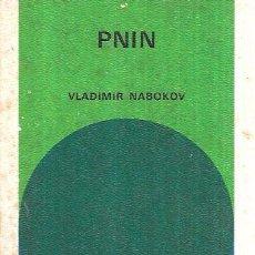 Libros de segunda mano: PNIN. VLADIMIR NABOKOV. BIBLIOTECA GENERAL SALVAT,SALVAT EDITORES, S.A.- ALIANZA EDITORIAL,S.A. 1972. Lote 164624433