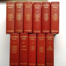 Libros de segunda mano: MAESTROS RUSOS 11 VOL 1965 A. PUSCHKIN. M. LERMONTOV.,F. DOSTOIEVSKI. L. TOLSTOI.,A. CHEJOV. M. GO. Lote 101973775