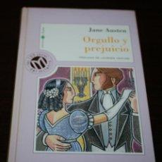 Libros de segunda mano: JANE AUSTEN - ORGULLO Y PREJUICIO - COL. MILLENIUM Nº 21 - BIB. EL MUNDO - 1999. Lote 102033411