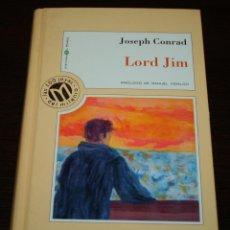 Libros de segunda mano: JOSEPH CONRAD - LORD JIM - COL. MILLENIUM Nº 25 - BIB. EL MUNDO - 1999. Lote 102033479