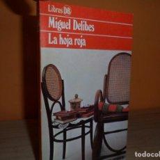 Libros de segunda mano - LA HOJA ROJA / MIGUEL DELIBES - 102353619
