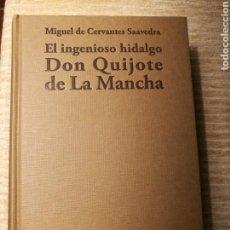 Libros de segunda mano: EL INGENIOSO HIDALGO DON QUIJOTE DE LA MANCHA. Lote 102625431