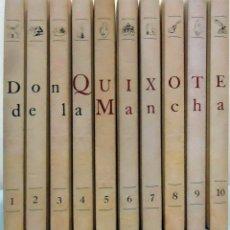 Libros de segunda mano: DON QUIXOTE DE LA MANCHA. COMPUESTO POR D. MIGUEL DE CERVANTES. ILUSTRADO POR D. ANTONIO MINGOTE. Lote 102685963