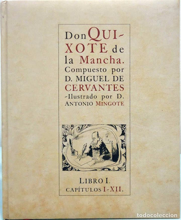 Libros de segunda mano: DON QUIXOTE DE LA MANCHA. COMPUESTO POR D. MIGUEL DE CERVANTES. ILUSTRADO POR D. ANTONIO MINGOTE - Foto 2 - 102685963