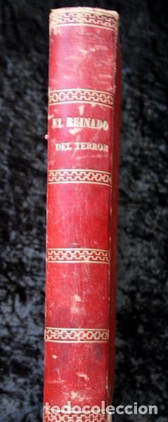 EL REINADO DEL TERROR - ALEJANDRO DUMAS - 1859 - ILUSTRADO - PORVENIR (Libros de Segunda Mano (posteriores a 1936) - Literatura - Narrativa - Clásicos)