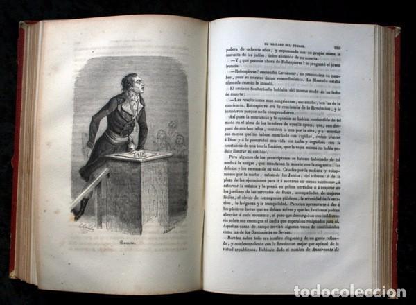 Libros de segunda mano: EL REINADO DEL TERROR - ALEJANDRO DUMAS - 1859 - ILUSTRADO - PORVENIR - Foto 2 - 102686731