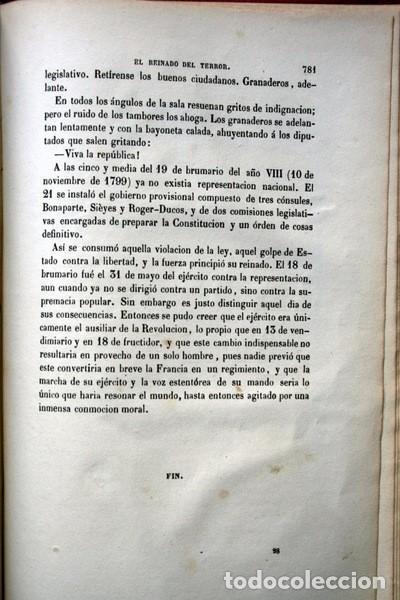 Libros de segunda mano: EL REINADO DEL TERROR - ALEJANDRO DUMAS - 1859 - ILUSTRADO - PORVENIR - Foto 6 - 102686731