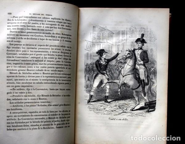 Libros de segunda mano: EL REINADO DEL TERROR - ALEJANDRO DUMAS - 1859 - ILUSTRADO - PORVENIR - Foto 9 - 102686731