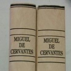 Libros de segunda mano: COLECCION DE DON QUIJOTE DE LA MANCHA.(2 VOLUMENES,EDICIONES RUEDA).. Lote 102729122