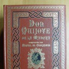 Libros de segunda mano: DON QUIJOTE DE LA MANCHA / MIGUEL DE CERVANTES / 3 TOMOS / 1989. Lote 102846527