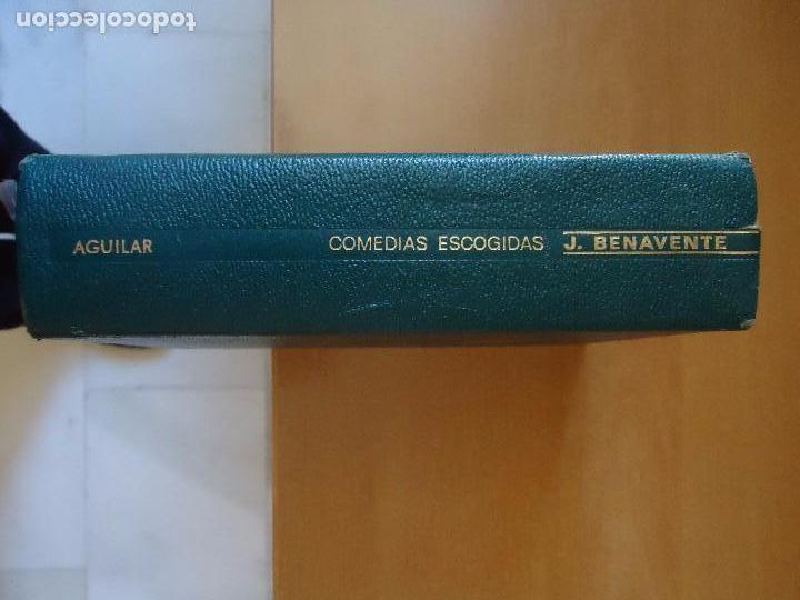 LIBRO. COMEDIAS ESCOGIDAS DE JACINTO BENAVENTE, PREMIO NOVEL 1922. (Libros de Segunda Mano (posteriores a 1936) - Literatura - Narrativa - Clásicos)