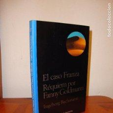 Libros de segunda mano: EL CASO FRANZA. RÉQUIEM POR FANNY GOLDMANN - INGEBORG BACHMANN - AKAL, MUY BUEN ESTADO. Lote 103906767