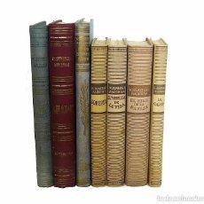 Libros de segunda mano: LOTE DE 7 LIBROS ANTIGUOS - SOMERSET MAUGHAM - NOVELAS - LITERATURA - PREMIO NOBEL 1950. Lote 104043203