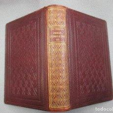 Libros de segunda mano: PIO BAROJA - OBRAS COMPLETAS TOMO VI - EDI BIBLIOTECA NUEVA MADRID 1948 1276PAG + INFO . Lote 104087847