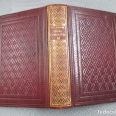 Libros de segunda mano: PIO BAROJA - OBRAS COMPLETAS TOMO III - EDI BIBLIOTECA NUEVA MADRID 1947 1294PAG + INFO. Lote 104091543