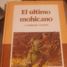 Libros de segunda mano: LIBRO EL ULTIMO MOHICANO J.FENIMORE CLASICOS COLOR EDELVIVES. Lote 104123331