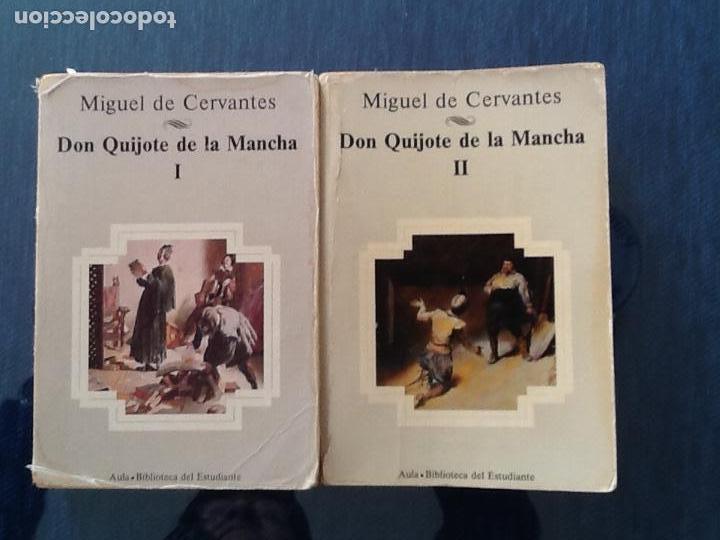 DON QUIJOTE DE LA MANCHA. DOS VOLUMENES. PLANETA (Libros de Segunda Mano (posteriores a 1936) - Literatura - Narrativa - Clásicos)