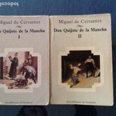 Libros de segunda mano: DON QUIJOTE DE LA MANCHA. DOS VOLUMENES. PLANETA. Lote 104354051