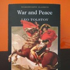 Libros de segunda mano: LEO TOLSTOY. WAR AND PEACE. Lote 104771931