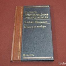 Libros de segunda mano: CLÁSICOS CONTEMPORÁNEOS INTERNACIONALES - EL JUEZ Y SU VERDUGO - FRIEDRICH DÜRRENMATT - PLANETA CLB. Lote 104804723