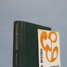 Livres d'occasion: 1976.- POESIAS COMPLETAS. GABRIELA MISTRAL. AGUILAR. CON MARCAPAGINAS. Lote 128590862
