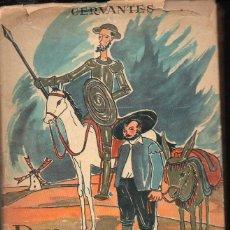 Libros de segunda mano: CERVANTES : DON QUIJOTE (COLECCIÓN OLIMPO, 1957) ILUSTRACIONES DE PANIKER. Lote 105077839