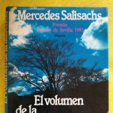 Libros de segunda mano: VOLUMEN DE LA AUSENCIA, EL .... MERCEDES SALISACHS. Lote 105208910