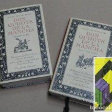 Libros de segunda mano: CERVANTES, MIGUEL DE: EL INGENIOSO HIDALGO DON QUIJOTE DE LA MANCHA (2 VOLS).. Lote 105427043