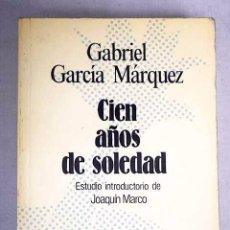 Libros de segunda mano: GABRIEL GARCÍA MÁRQUEZ · CIEN AÑOS DE SOLEDAD. Lote 105458431