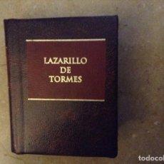 Libros de segunda mano: LAZARILLO DE TORMES. GRANDES OBRAS DE LA LITERATURA UNIVERSAL EN MINIATURA (PLANETA DEAGOSTINI). Lote 105659583