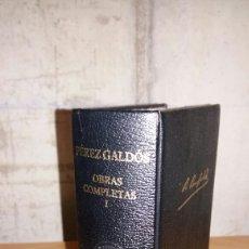 Libros de segunda mano: PEREZ GALDOS. OBRAS COMPLETAS I. AGUILAR. Lote 105674131