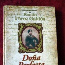 Libros de segunda mano: DOÑA PERFECTA. OBRAS ESCOGIDAS DE BENITO PÉREZ GALDÓS. PEDIDO MÍNIMO 5€. Lote 105797543
