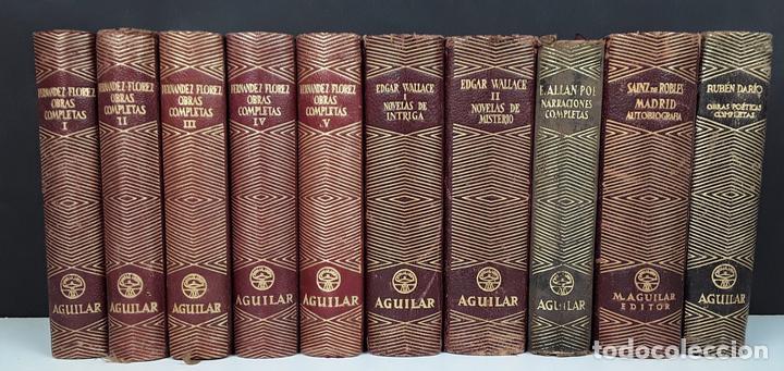 EDITORIAL AGUILAR. 10 EJEMPLARES. VARIOS AUTORES.1949/1951. (Libros de Segunda Mano (posteriores a 1936) - Literatura - Narrativa - Clásicos)